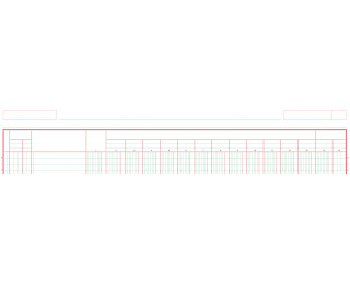 Manifold 15 colonnes - 3850E - EXACOMPTA - 21 x 29,7