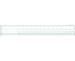Piqûre comptable à tête paresseuse - 18130E - EXACOMPTA - 29,7 x 38 cm