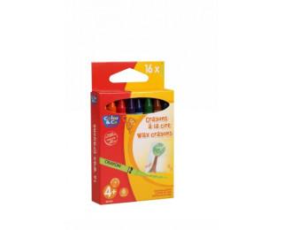 Pochette de 16 crayons cire 8mm - COLOR&CO