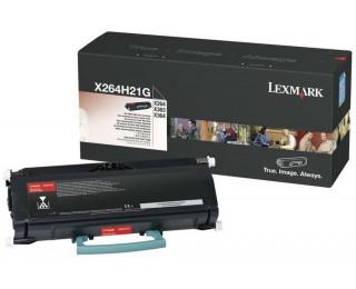 Toner laser X264H80G - Lexmark - Noir