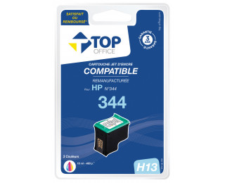 Cartouche d'encre compatible HP : 344 - TOP OFFICE - Couleurs