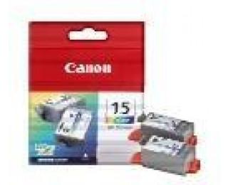 Pack 2 Cartouches CANON BCI-15CL - Couleur
