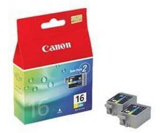 Pack 2 Cartouches CANON BCI-16 - Couleur