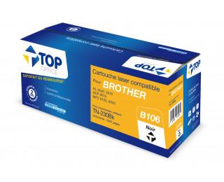 Toner compatible BROTHER TN 230BK - TOP OFFICE - Noir