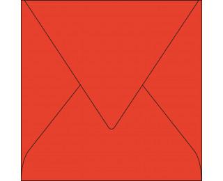 Lot de 20 enveloppes 165 x 165 - POLLEN - 120g - Rouge corail