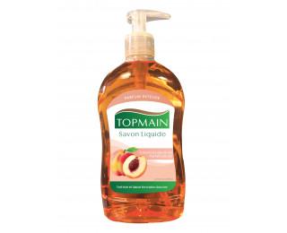 Savon mains pêche - TOPMAIN - 500 ml