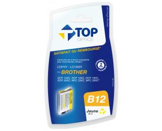 Cartouche d'encre compatible BROTHER LC970 / 1000 - Jaune