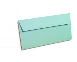 20 Enveloppes 110x220 POLLEN - bleu 120g bande siliconée