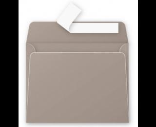 Lot de 20 enveloppes 90 x 140 - POLLEN - 120g - Gris