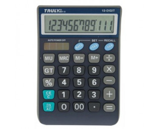 Calculatrice de bureau -  TRULY - CT866T12