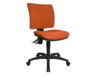 Chaise de bureau dactylo MAYA - TOPSTAR - Orange