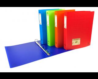 Classeur souple Forever A4 - EXACOMPTA - Dos 30 mm - Coloris assortis