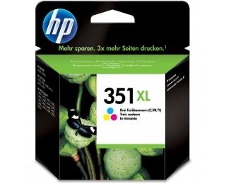 Cartouche d'encre HP 351 XL (CB338E) - Couleurs