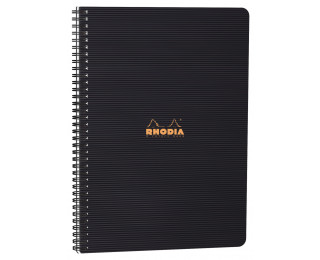 4 Colors book Rhodiactive - RHODIA - A4 - 160 pages - 90g - 5x5