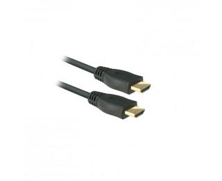 Câble HDMI  1.4 mâle/mâle - APM - 1.80m - Noir