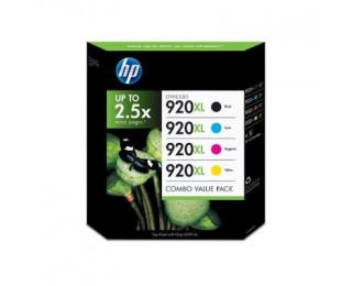 Pack 4 cartouches d'encre HP 920 XL - Noir et couleurs