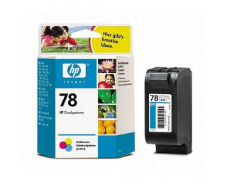 Cartouche d'encre HP 78 (C6578D) Light – 3 couleurs