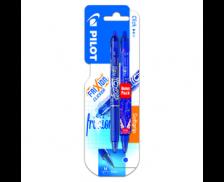 2 Stylos Blister Frixion Ball Clicker - PILOT - Bleu