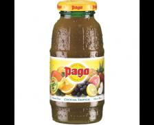Pack de 12 bouteilles de 20 cl - PAGO - Jus tropical multi-fruits