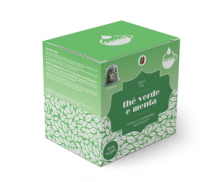 Lot de 10 capsules thé compatibles Nespresso - Green Peppermint