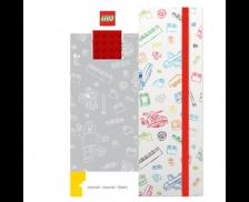 Carnet de poche rouge - Brique - LEGO
