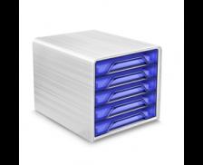 Bloc de classement 5 tiroirs - CEP - Happy bleu