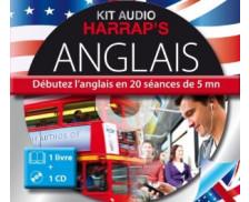 Harrap's Kit audio Anglais - 20 séances