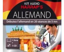 Harrap's Kit audio Allemand - 20 séances