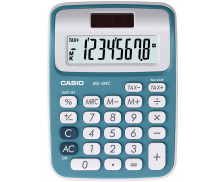 Calculatrice de bureau MS6VC - CASIO - Bleu