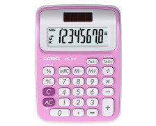 Casio MS 6 VC rose - Calculatrice de Bureau