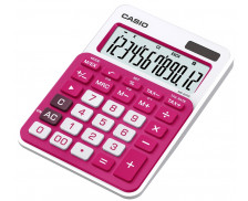 Casio MS 20 NC rouge - Calculatrice de Bureau