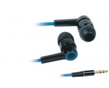 Ecouteurs intra-auriculaires - APM - Noir/bleu