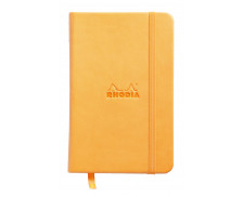 Carnet A6 - WEBNOTEBOOK - Orange - Ligne - 192 pages