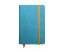 Carnet A6 - RHODIARAMA - Turquoise - Ligne - 192 pages