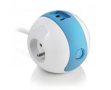 Multiprise Wattball - WATT&CO - Design bleue