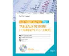 Tableaux de bord et budgets avec Excel - Focus - EYROLLES