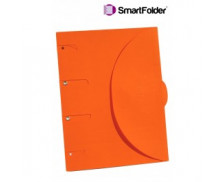 Chemise pelliculée 24x32 cm - SMART FOLDER - Orange
