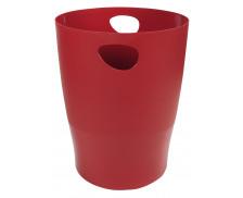 Corbeille à papier 15L - EXACOMPTA - Rouge