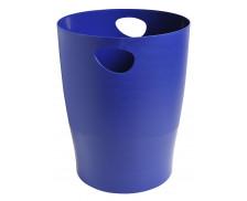 Corbeille à papier 15L - EXACOMPTA - Bleu glacé