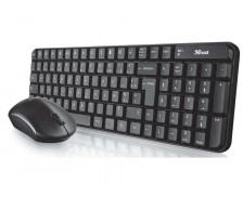 Pack clavier + souris sans fil Modo - TRUST - Noir