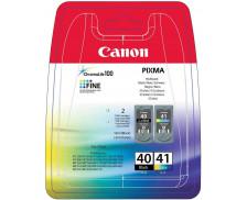 Pack CANON PG 40/CL41 - Noir et couleurs