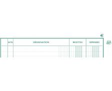 Registre - EXACOMPTA - Bradel  recettes dépenses - 932E