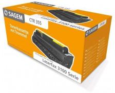 Toner laser CTR355 - Sagem - Noir