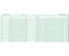 Registre - EXACOMPTA - Journal de caisse - 6800E