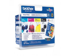Pack 4 cartouches d'encre BROTHER LC980 - 4 couleurs