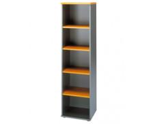 Bibliothèque JAZZ, largeur : 48 cm - Aulne/anthracite