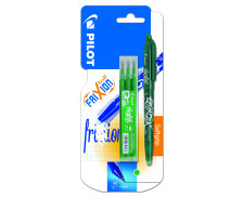 Stylo roller Frixion ball + recharge - PILOT - Vert