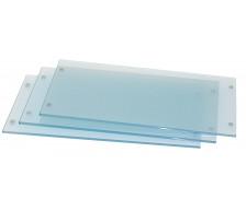 SPIRIT 3 Tablettes en verre, largeur 53 cm