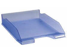 Corbeille à courrier Combo 2 Classic - EXACOMPTA - Bleu glacé