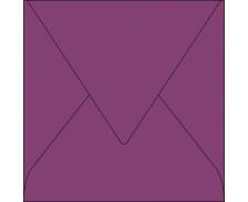 20 Enveloppes 165x165 POLLEN - cassis 120g patte pointue gommée